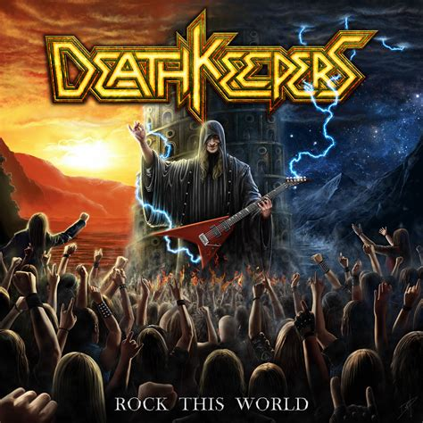 Death Keepers - Rock This World Review | Angry Metal Guy