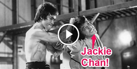 Jackie Chan Tells You How He Picked a Fight With Bruce Lee