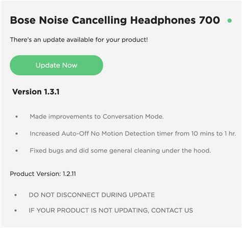 ***UPDATE October 24, 2019*** Noise Cancelling hea