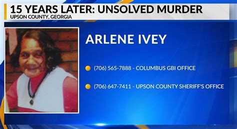 Brutal murder of an Upson County woman remains unsolved 15