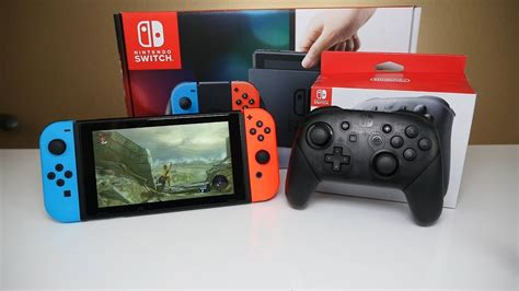 Nintendo Switch Pro Controller SETUP and Impressions - YouTube