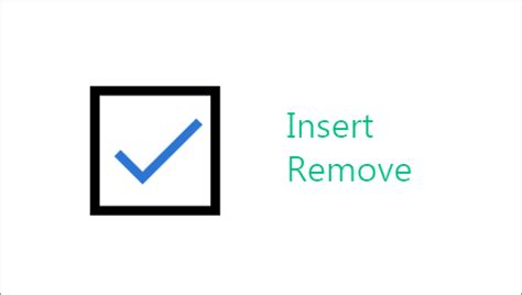How to Insert and Delete Checkboxes in Excel 2016 Cells