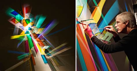 Prismatic Paintings Produced From Refracted Light by