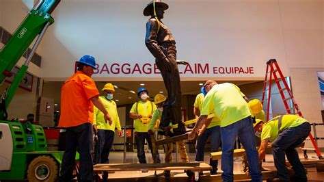 Texas Ranger Statue at Love Field Removed Over Concerns