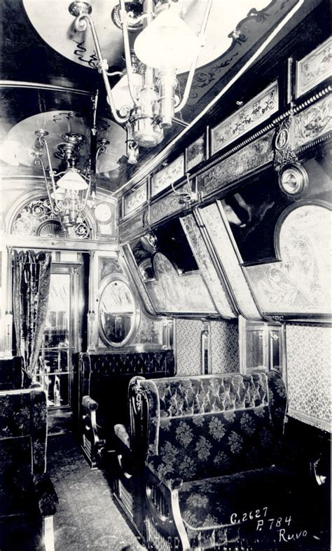 Just A Car Guy: Pullman train cars, the epitome of luxury