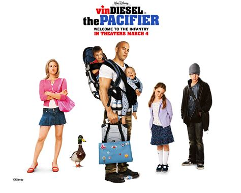 plot of movie: The Pacifier (2005)