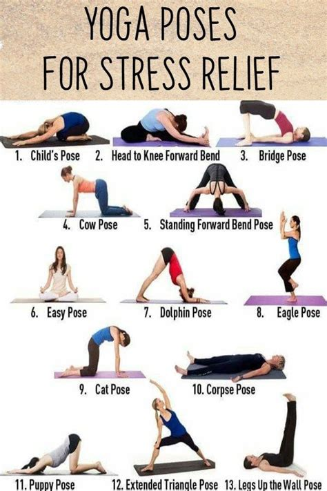 Easy Yoga Poses for Stressed Out Moms   Easy yoga poses