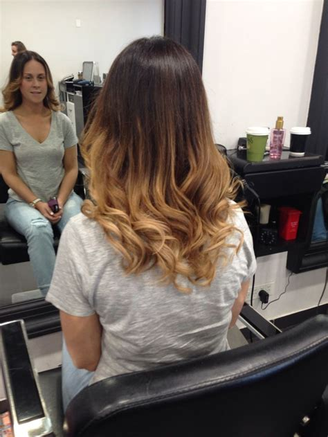 Ombre color hair awesome hair style fashion hairdresser