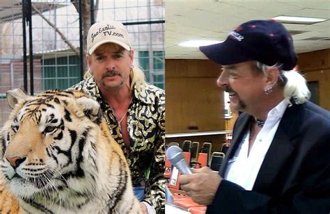 Joe Exotic Was An Indie Wrestling Commentator, And Held