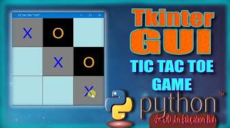 Python GUI Apps with tkinter - YouTube